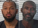 These Friday, Aug. 3, 2018, photos released by Taos County Sheriff's Office shows Siraj Wahhaj (left) and Lucas Morten (right).