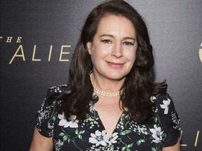 """In this Jan. 16, 2018 file photo, actress Sean Young attends the premiere of TNT's """"The Alienist"""" in New York."""