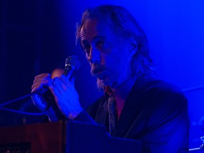 Conway Savage of Nick Cave and the Bad Seeds performs at The Fonda Theatre on Feb. 21, 2013 in Los Angeles.
