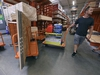 Alex Gilewicz buys supplies at The Home Depot on Monday, Sept. 10, 2018, in Wilmington, N.C.