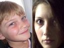 Terri-Lynne McClintic (right) and her murder victim Tori Stafford (left) are seen in file photos. (Handouts)