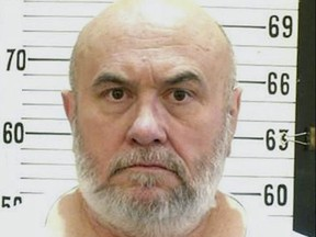 This undated file photo released by the Tennessee Department of Corrections shows death row inmate Edmund Zagorski in Tennessee. (Tennessee Department of Corrections via AP, File)