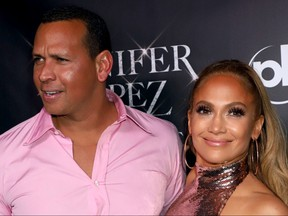 Alex Rodriguez and Jennifer Lopez attend the after party following the final performance of the 'Jennifer Lopez: All I Have' residency, held in Mr. Chow at Caesars Palace in Las Vegas, on Sept. 29, 2018.