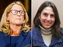 Christine Blasey Ford (L) and Deborah Ramirez. (Melina Mara-Pool/Getty Images/Safehouse Progressive Alliance for Nonviolence via AP)