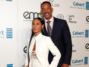 Jada Pinkett Smith (L) and Will Smith attend the Environmental Media Association 26th Annual EMA Awards Presented By Toyota, Lexus And Calvert at Warner Bros. Studios on October 22, 2016 in Burbank, California. (Photo by Rich Polk/Getty Images for Environmental Media Association)