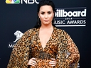 Demi Lovato attends the 2018 Billboard Music Awards at MGM Grand Garden Arena on May 20, 2018 in Las Vegas.