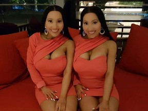 Aussie twins Anna and Lucy DeCinque say they now regret spending $220,000 on plastic surgery.