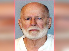 "This June 23, 2011, file booking photo provided by the U.S. Marshals Service shows James ""Whitey"" Bulger."