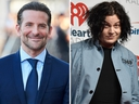 Bradley Cooper (L) and Jack White are seen in this combination shot.
