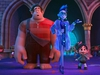 "This image released by Disney shows characters, from left, Ralph, voiced by John C. Reilly, Yess, voiced by Taraji P. Henson and Vanellope von Schweetz, voiced by Sarah Silverman in a scene from ""Ralph Breaks the Internet.""  (Disney via AP) ORG XMIT: NYET615"