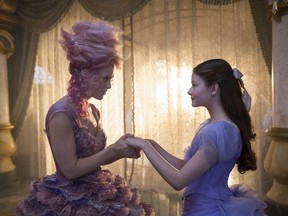 "This image released by Disney shows Keira Knightley, left, and Mackenzie Foy in a scene from ""The Nutcracker and the Four Realms."""