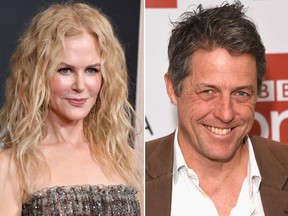 Nicole Kidman and Hugh Grant. (Getty Images file photos)