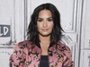 """FILE - In this March 20, 2017 file photo, Demi Lovato participates in the BUILD Speaker Series to discuss """"Smurfs: The Lost Village"""" in New York. Lovato has checked out of the hospital she was rushed to two weeks ago for a reported overdose. A person close to Lovato says she was released from Cedars-Sinai hospital in Los Angeles over the weekend.  Lovato was hospitalized on July 24. (Photo by Charles Sykes/Invision/AP, File) ORG XMIT: NYET107"""