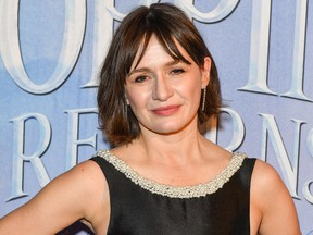 Emily Mortimer attends the 'Mary Poppins Returns' special Canadian screening at Scotiabank Theatre on Dec. 6, 2018 in Toronto. (George Pimentel/Getty Images for Disney Studios)