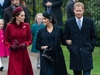 Queen Elizabeth, accompanied by members of the Royal Family, attends the Christmas Day service at St. Mary Magdalene Church at Sandringham  Featuring: Meghan Duchess of Sussex, Meghan Markle, Catherine Duchess of Cambridge, Catherine Middleton, Kate Middleton, Harry Duke of Sussex, Prince Harry Where: Sandringham, United Kingdom When: 25 Dec 2018 Credit: John Rainford/WENN ORG XMIT: wenn35812058