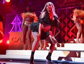 Cardi B performs at Z100's Jingle Ball 2018 at Madison Square Garden on December 7, 2018 in New York City. (Photo by Theo Wargo/Getty Images for iHeartMedia)