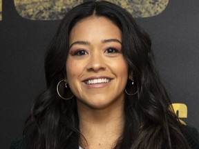 Actress Gina Rodriquez attends the photo call for Miss Bala in West Hollywood, Calif., on Jan. 13, 2019. (VALERIE MACON/AFP/Getty Images)