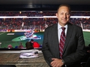National Lacrosse League commissioner Nick Sakiewicz is photographed during a visit to Calgary and the Scotiabank Saddledome to watch the Calgary Roughnecks take on the Colorado Mammoth on  March 19, 2016.