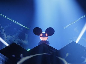 DeadMau5 during the 2012 JUNO Awards Show in Ottawa Sunday April 1, 2012.