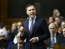 Minister of Finance Bill Morneau announces March 19th as Federal budget day during question period in the House of Commons on Parliament Hill in Ottawa on Feb. 20, 2019.