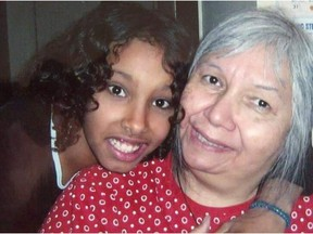 Sara Kay and her grandmother Garda Crane, seen in a photo provided by Kay's uncle. Kay died after being stabbed during an altercation at a friend's home in 2017.