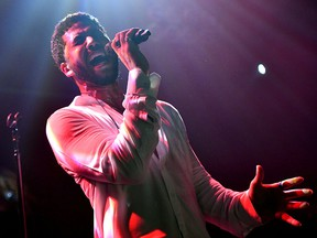Singer Jussie Smollett performs onstage at Troubadour on Feb. 2, 2019 in West Hollywood, Calif.