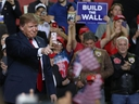U.S. President Donald Trump attends a rally at the  El Paso County Coliseum on Feb. 11, 2019 in El Paso, Texas.