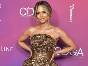 Halle Berry attends the 21st CDGA (Costume Designers Guild Awards) at The Beverly Hilton Hotel on Feb. 19, 201,9 in Beverly Hills, Calif.
