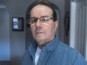 Glen Assoun, jailed for over 16 years for the knife murder of his ex-girlfriend in a Halifax parking lot, is seen at his daughter's residence in Dartmouth, N.S. on Thursday, Feb. 28, 2019. (THE CANADIAN PRESS/Andrew Vaughan)