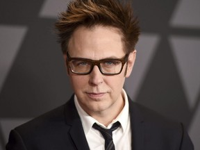 In this Nov. 11, 2017 file photo, director James Gunn arrives at the 9th annual Governors Awards in Los Angeles.