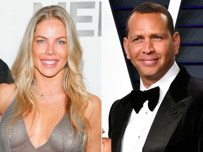 Jessica Canseco and Alex Rodriguez. (Getty Images file photos)
