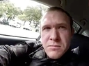 This image grab from a self-shot video that was streamed on Facebook Live on March 15, 2019 by the man who was involved in two mosque shootings in Christchurch shows the man in his car before he entered the Masjid al Noor mosque. He used the name Brenton Tarrant on social media.
