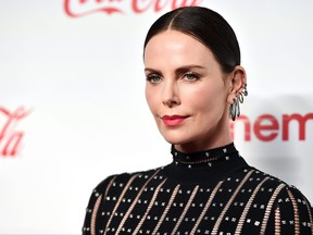 Charlize Theron attends The CinemaCon Big Screen Achievement Awards Brought to you by The Coca-Cola Company at OMNIA Nightclub at Caesars Palace during CinemaCon, the official convention of the National Association of Theatre Owners, on April 4, 2019 in Las Vegas, Nevada.  (Alberto E. Rodriguez/Getty Images for CinemaCon)