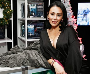 Jenni 'Jwoww' Farley attends Z100's Jingle Ball 2018 Gift Lounge at Madison Square Garden on Dec. 7, 2018 in New York City.  (Brian Ach/Getty Images for iHeartMedia)