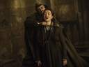 This image released by HBO shows Michelle Fairley portraying Catelyn Stark in a scene from