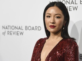 In this Tuesday, Jan. 8, 2019 file photo, actress Constance Wu attends the National Board of Review awards gala at Cipriani 42nd Street in New York. (Evan Agostini/Invision/AP, File)