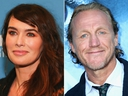 Lena Headey and Jerome Flynn. (Getty Images)