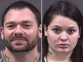 Travis Fieldgrove and Samantha Kershner. (Hall County Department of Corrections)