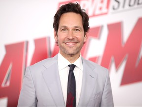 """Paul Rudd attends the premiere of Disney And Marvel's """"Ant-Man And The Wasp"""" on June 25, 2018 in Los Angeles, California."""