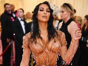 Kim Kardashian West attends The 2019 Met Gala Celebrating Camp: Notes on Fashion at Metropolitan Museum of Art on May 6, 2019 in New York City.