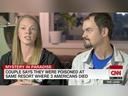 Speaking to CNN on Friday, Kaylynn Knull, 29, said she and her boyfriend Tom Schwander, 33, became violently ill during her stay at Grand Bahia Principe Hotel La Romana in June 2018. (CNN screengrab)