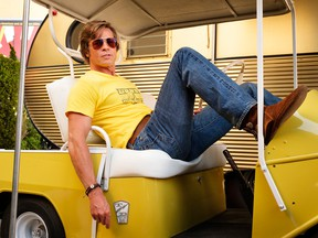 """Among 2019's films dominated by straight white men, was Quentin Tarantino's """"Once Upon a Time in Hollywood,"""" starring Brad Pitt."""