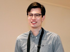 Australian student Alek Sigley, 29, who was detained in North Korea, arrives at Haneda International Airport in Tokyo, Japan July 4, 2019. (REUTERS/Issei Kato)