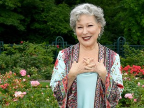 """Bette Midler introduces the """"Divine Miss M"""" Rose at the New York Restoration Project Spring Picnic at the New York Botanical Garden on June 19, 2019 in New York City."""