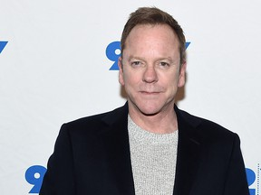 """Kiefer Sutherland attends the 92nd Street Y Presents: """"Designated Survivor"""" talk and preview screening at Kaufman Concert Hall on Feb. 27, 2018 in New York City.  (Jamie McCarthy/Getty Images)"""