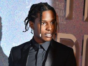 In this file photo taken Sept. 13, 2018, A$AP Rocky attends Rihanna's 4th Annual Diamond Ball at Cipriani Wall Street in New York City.