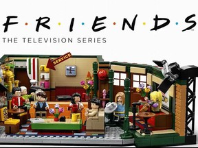 """Lego releases special limited """"Friends"""" set in time for the show's 25th anniversary. LEGO Group/ Twitter"""