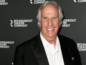 """Henry Winkler attends red carpet for th """"Twentieth Century"""" Benefit Concert Reading at Studio 54 on April 29, 2019 in New York City. (Nicholas Hunt/Getty Images)"""