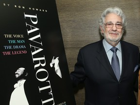 """Placido Domingo attends a special screening of """"Pavarotti"""" on May 9, 2019 in Los Angeles, Calif. (Jesse Grant/Getty Images for CBS Films)"""
