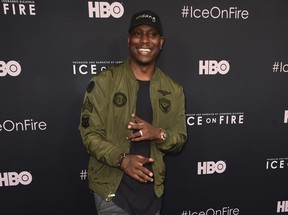 "Tyrese Gibson attends the L.A. premiere of HBO's ""Ice On Fire"" at LACMA on June 5, 2019 in Los Angeles, California."
